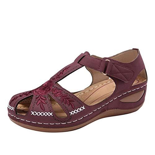 KHIIen Women's Summer Sandals,Hollo…