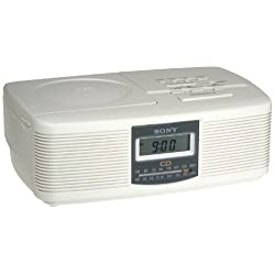 Sony ICFCD810 AM/FM CD Clock Radio (Discontinued by Manufacturer)
