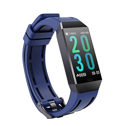 Fitness Watch Fitness Trackers Straps with Heart Monitor, Colour Screen Fitness Watch Waterproof Kids Sports Watch with Calorie Counter and Step Counter, Activity Trackers for Kids Women Men