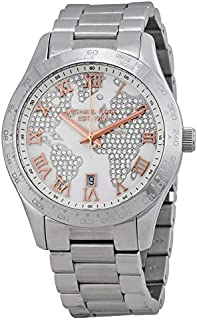 Michael Kors MK5958 Ladies Layton Chronograph Silver Watch