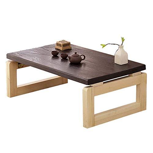 LYYJIAJU Small Coffee Tables Living Room Modern Minimalist Japanese-style Tatami Coffee Table, Foldable Low Table Coffee Table, Suitable for Study Room, Living Room, Small Bay Window