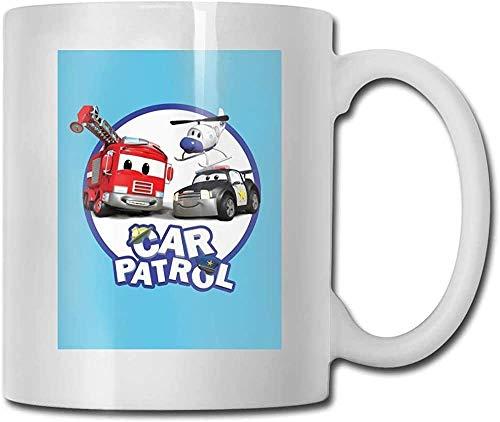 Keyboard cover Taza de café y té, regalo de la Patrulla Canina, taza de cerámica para manualidades, el mejor regalo para familias amigos y profesores de 11 oz