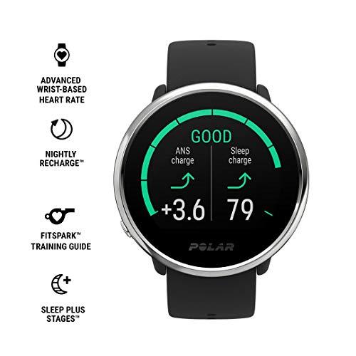 Polar Ignite – Reloj de fitness con GPS integrado, pulsómetro de muñeca, guías de...