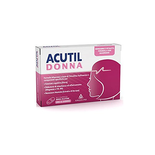 Angelini Spa Acutil Mujer 20 comprimidos