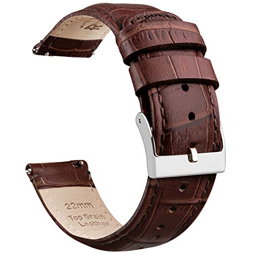 Ritche Embossed Leather Watch Straps
