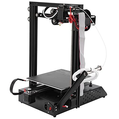 Stampante 3D ad alta precisione, stampante 3D a prestazioni stabili per il lavoro(Norma europea 250V, rosa)