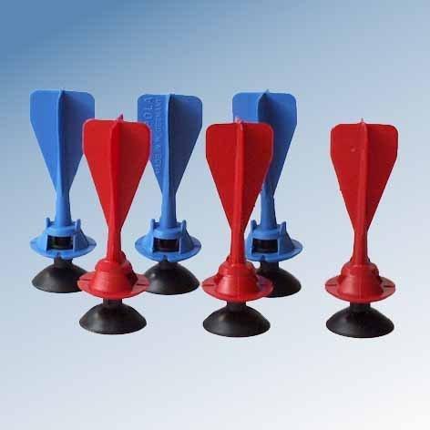 Armbrust Ersatzpfeile Gapola 3rot und drei blau