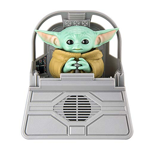 eKids Star Wars The Child Animatronic Speech and Sounds with Built in Speaker and Motion Activated Combinations, The Mandalorian Toy for Kids Ages 4 and Up