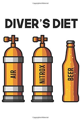 Diver's Diet | Air Nitrox Beer: Tauchen Geschenk Für Taucher Tauchsport Dina5 Gepunktet Notizbuch Punkteraster Tagebuch Planer Notizblock Kladde Journal Strazze