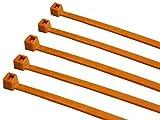 TR2 bridas de Nylon 140 x 3,6 mm naranja 500 unidades