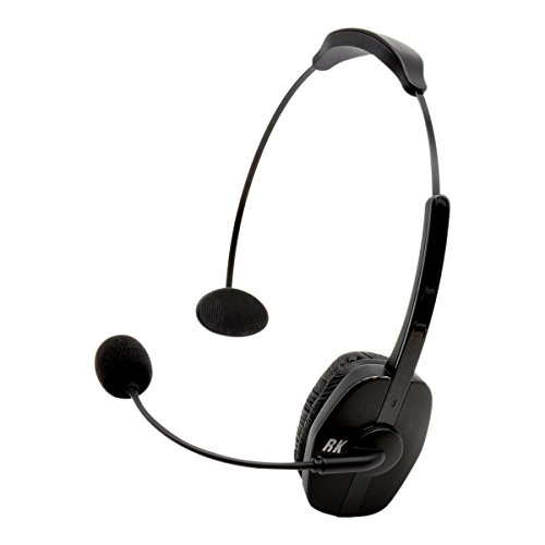 RoadKing RKING920 Noise-Canceling Bluetooth Headset with Mic for Hands-Free