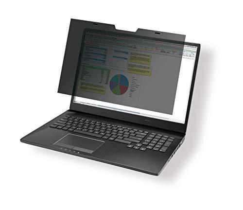 Durable Filtri Privacy Magnetic per Schermi da 14.1 , Include Cartellina e Panno in Microfibra, Antracite, 514557