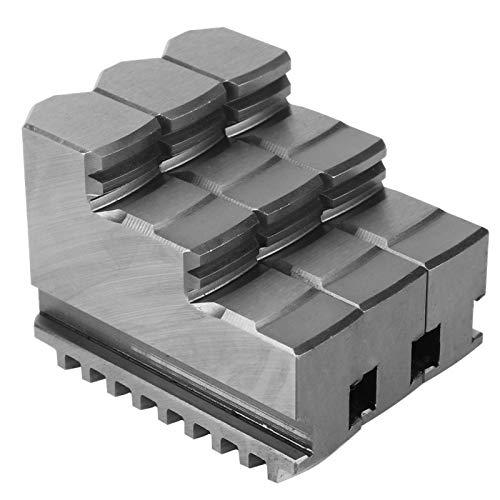 Accesorio de máquina CNC, mandíbula interna de 3 piezas 20CrMnTi, mandril de torno de máquina herramienta CNC, mandíbula interna apta para K11-200 de 8 pulgadas