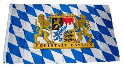 Flaggenking -  Mm Freistaat Bayern