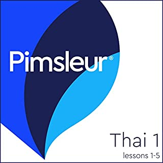 Thai Phase 1, Unit 01-05     Learn to Speak and Understand Thai with Pimsleur Language Programs              By:                                                                                                                                 Pimsleur                               Narrated by:                                                                                                                                 Pimsleur                      Length: 2 hrs and 36 mins     38 ratings     Overall 4.4