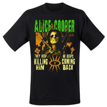 Alice Cooper Graveyard T-shirt Taille L