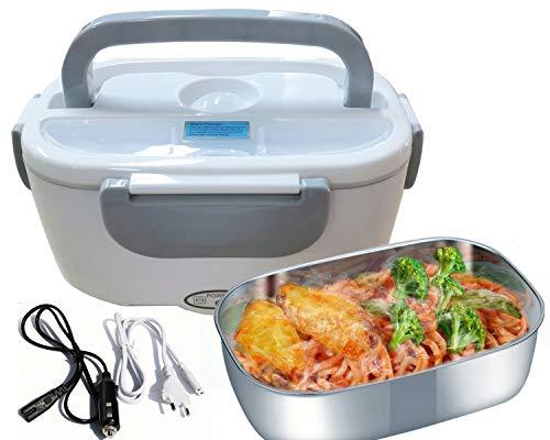 baratos y buenos Fiambrera eléctrica Nifogo 3 en 1 Calentador de alimentos eléctrico de 220 V para automóviles / camiones y … calidad
