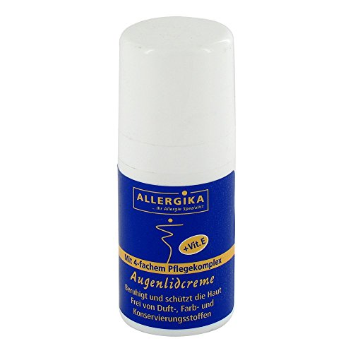 ALLERGIKA Augenlidcreme, 15 ml Creme