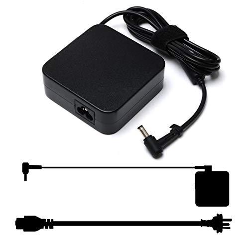 90W Laptop Charger for Asus K53E K55A K501U K501UX K501UW Q550L K501L K501LX ADP-90YD PA-1900-30 Replacement AC Adapter 19V 4.74A X53E K55N K52F K53S K53SV A53E N56VJ Power Supply