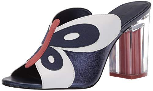Katy Perry womens The Kirra Heeled Sandal Navy Multi 10 M US