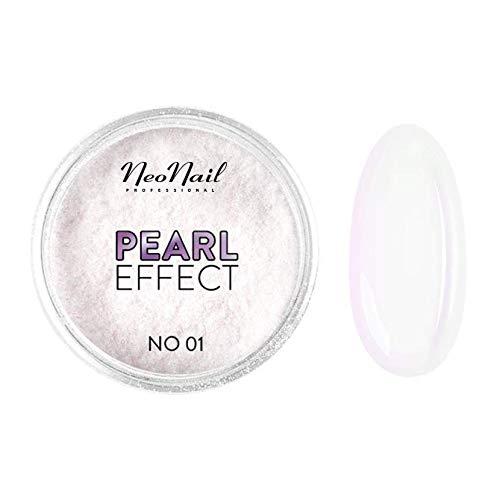 NeoNail Efekte 2g Effect Nagelkunst Zubehör Glitzerpuder Nail Art Glitter Pulver Staub Maniküre Dekor (5940 Pearl Effect No. 01)