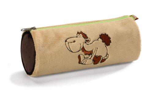Nici 52052-700 - Stiftemäppchen Kamel aus Plüsch, beige