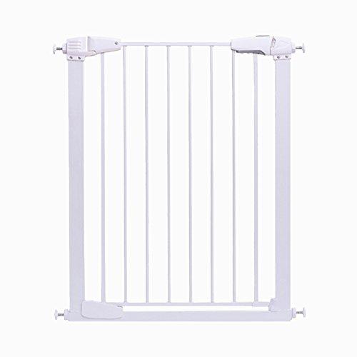 X-L-H Bébé portes de haute sécurité bébé extra large de clôture escalier facile à ouvrir et fermer la porte à installer des couloirs intérieurs blancs (taille : 117-123cm)