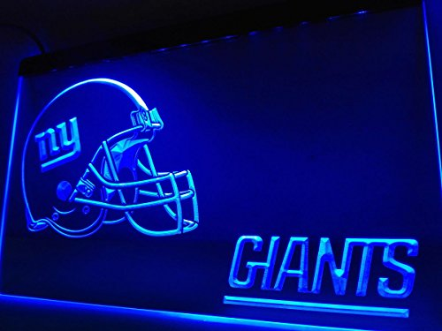 New York Giants Leuchtschild LED Neu Schild Laden Reklame Neon NFL Neonschild