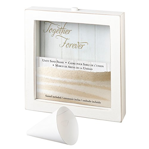 "Lillian Rose US106 Small Unity Sand Ceremony Frame, 7.5""X7"", Multi"