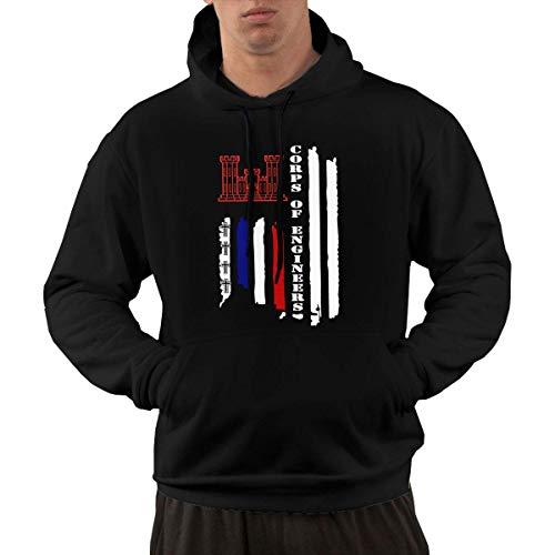 shenguang Freedom Us Flag Herren Hoodie Vintage Hooded Sweatshirts