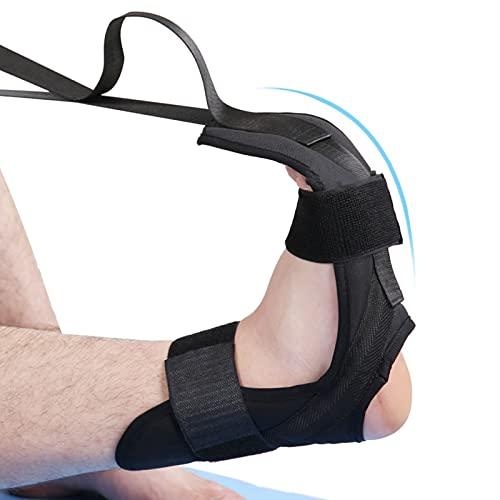 solawill Cintura di Allungamento Yoga, Cinghia di Riabilitazione del Piede di flessibilità Cintura, Allungare Il Legamento Yoga per la Riabilitazione Fascia Elastica per Esercizi di Fitness,Yoga