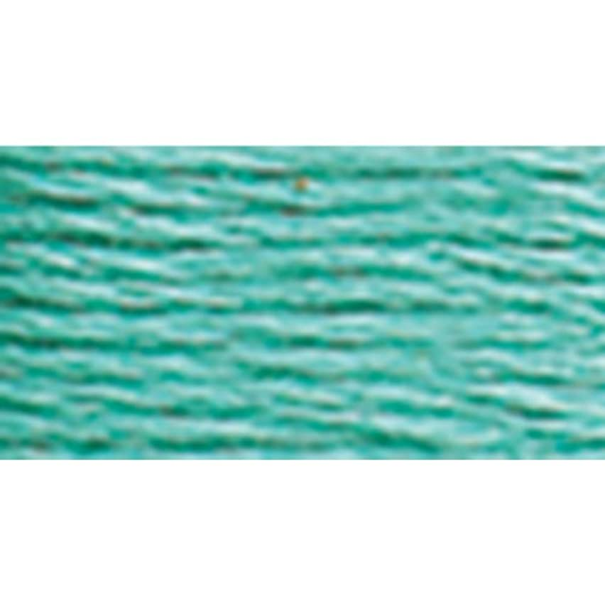 DMC 6 Strand Embroidery Cotton Floss, Medium Seagreen, 8.7-Yard ,Pack of 12