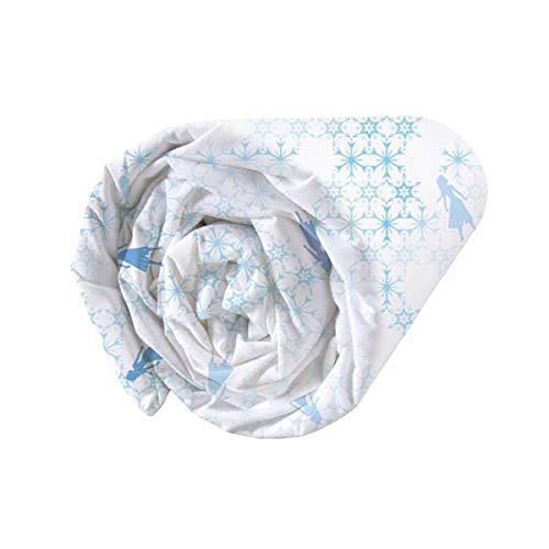 Frozen Mythical Water - Sábana Bajera (100% algodón, 90 x 190 cm)