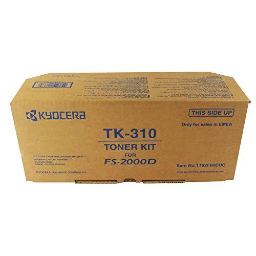 Kyocera 1T02F80EUC TK-310 Tonerkartusche 12.000 Seiten, schwarz