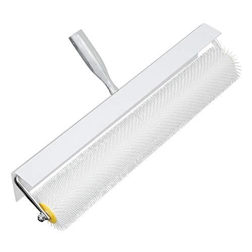 LANTRO JS - Conveniente rodillo de piso de mortero compuesto de látex autonivelante para pisos de 500 mm para eliminar las burbujas de aire y dejar una superficie lisa y nivelada