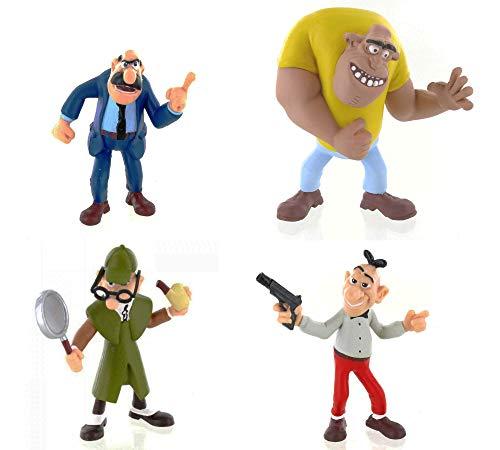 Clever und Smart Figuren 4er Set (Mister L, Gauner, Smart, Sherlock)