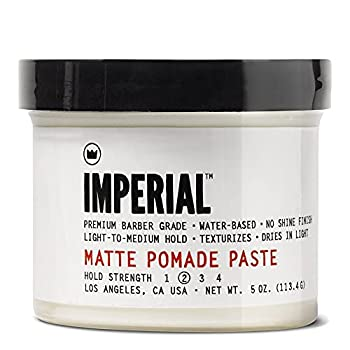 Imperial Barber Grade Products Matte Pomade Paste 5 oz