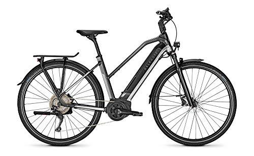 Kalkhoff Endeavour 5.B Advance Bosch 2020 - Bicicletta elettrica, Donna, Argento fumo/nero diamante lucido., 28' Damen Trapez M/48cm