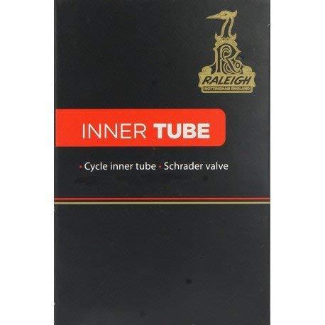 Raleigh TA408LV Long Valve Inner Tube - Black, 26x1.95/2.125 Inch