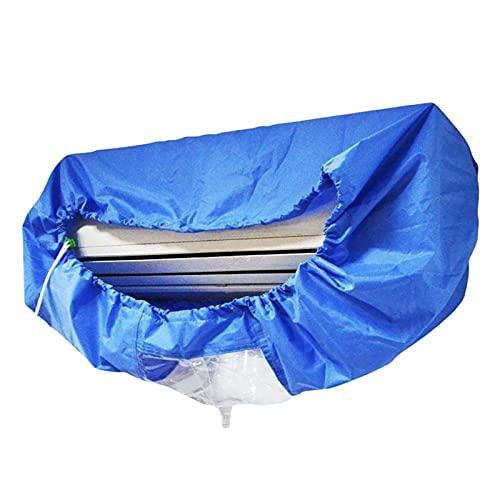 Cubierta de aire acondicionado Cubierta de aire acondicionado Montado en la pared Aire acondicionado Limpieza de la cubierta de polvo protectora Herramientas de limpieza Cinturón de apriete para 1-1.5