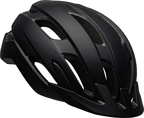 BELL Trace - Casco Unisex LED, Color Negro Mate, 54-61