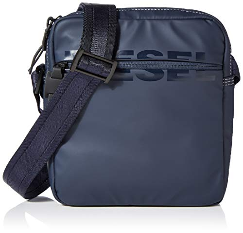 DIESEL ShoesBoldmessage DoublecrossHombreCarterasAzul (Blue Nights) 8x18x34 Centimeters (W x H x L)