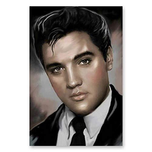 Malen Nach Zahlen Kunst Malen Nach Zahlen Elvis Presley Michael Jackson Rock Sänger Schauspieler Promi Poster Dekorative Gemälde