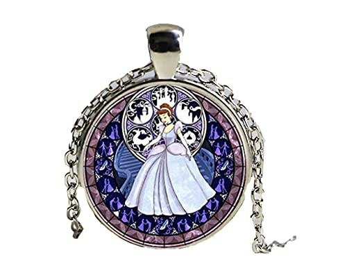 WAY2BB - Collier vintage princesse Disney (Cendrillon)