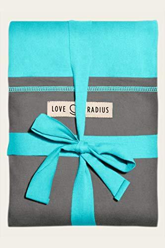 Love Radius 'l'Originale JPMBB' - Écharpe de Portage - Turquoise Elephant