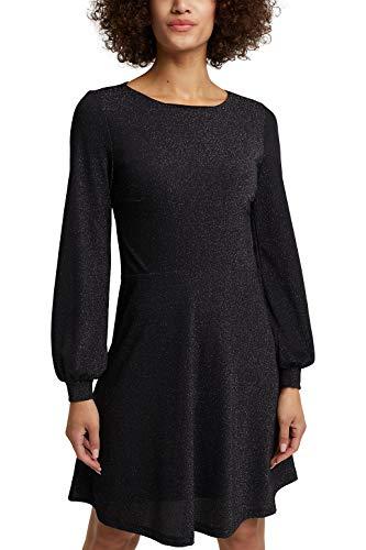 ESPRIT Damen 110EE1E318 Kleid, 001/BLACK, XL