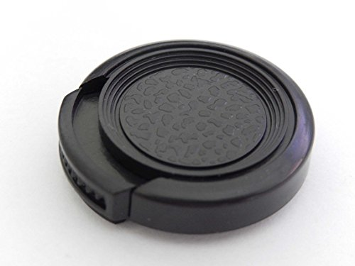 vhbw Objektiv Deckel 25mm Seitengriff passend für Kamera Canon, Casio, Fuji, Fujifilm, JVC, Kodak, Leica, Minolta, Nikon, Olympus