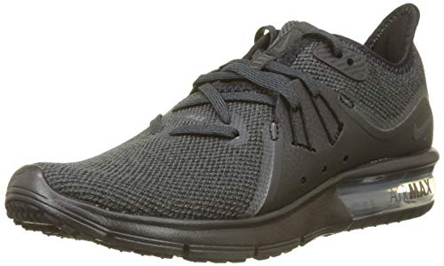 Nike Women's Air Max Sequent 3 Running Shoe Black/Anthrcite (6, Black/Anthracite)