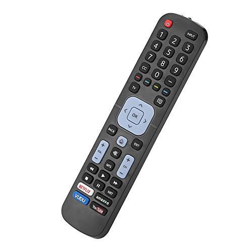 VBESTLIFE Fernbedienung Ersatz Smart Digital TV Audio Voice Controller für LC-32P5000U / LC-40P5000U / LC-43P5000U / LC-50P5000U / LC-55P5000U / LC-60P6000U Fernseher, Schwarz