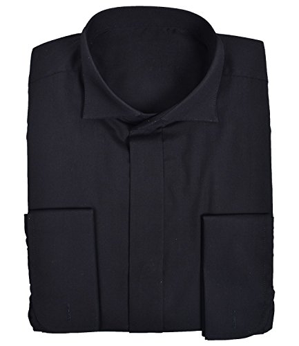 Ex-Branded Mens extra lange lengte dubbele manchet formele shirt